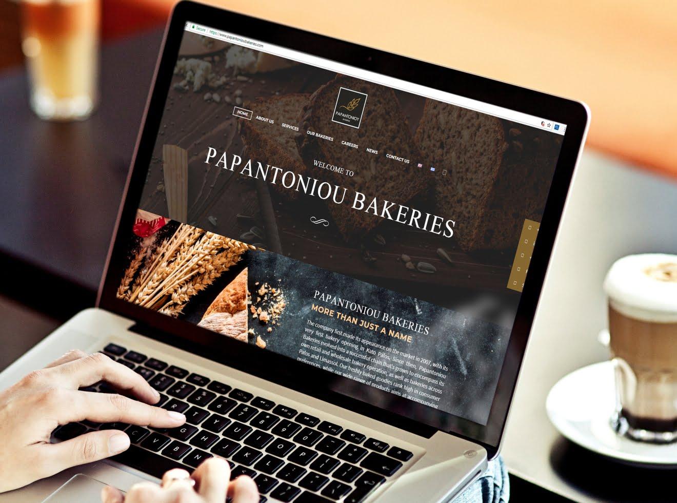 papantoniou bakeries website