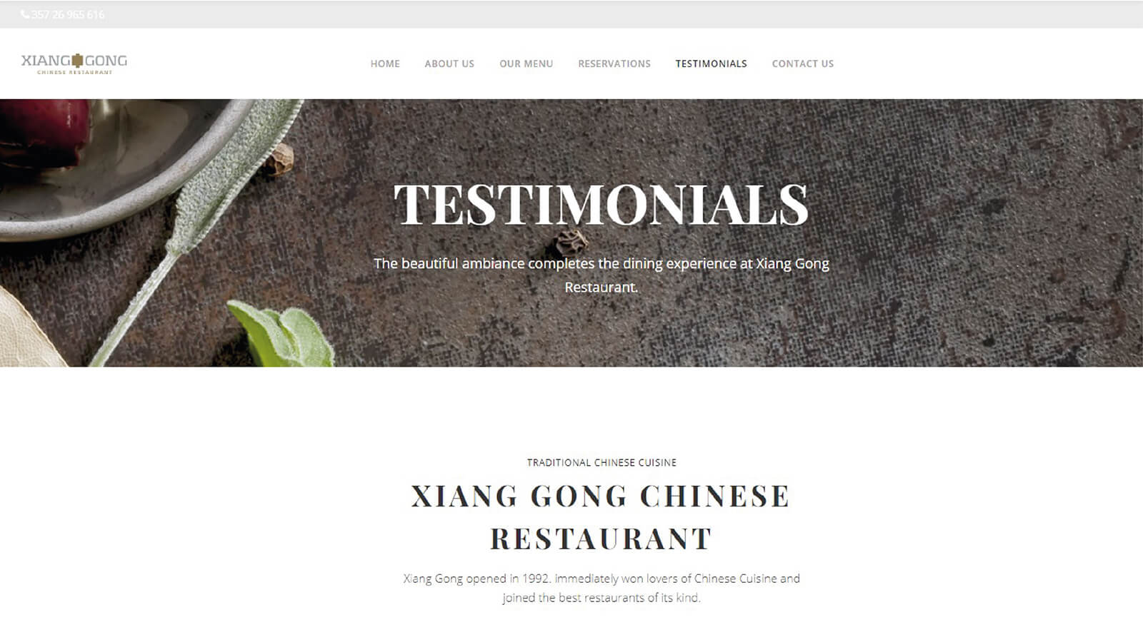 Xiang Gong New Website