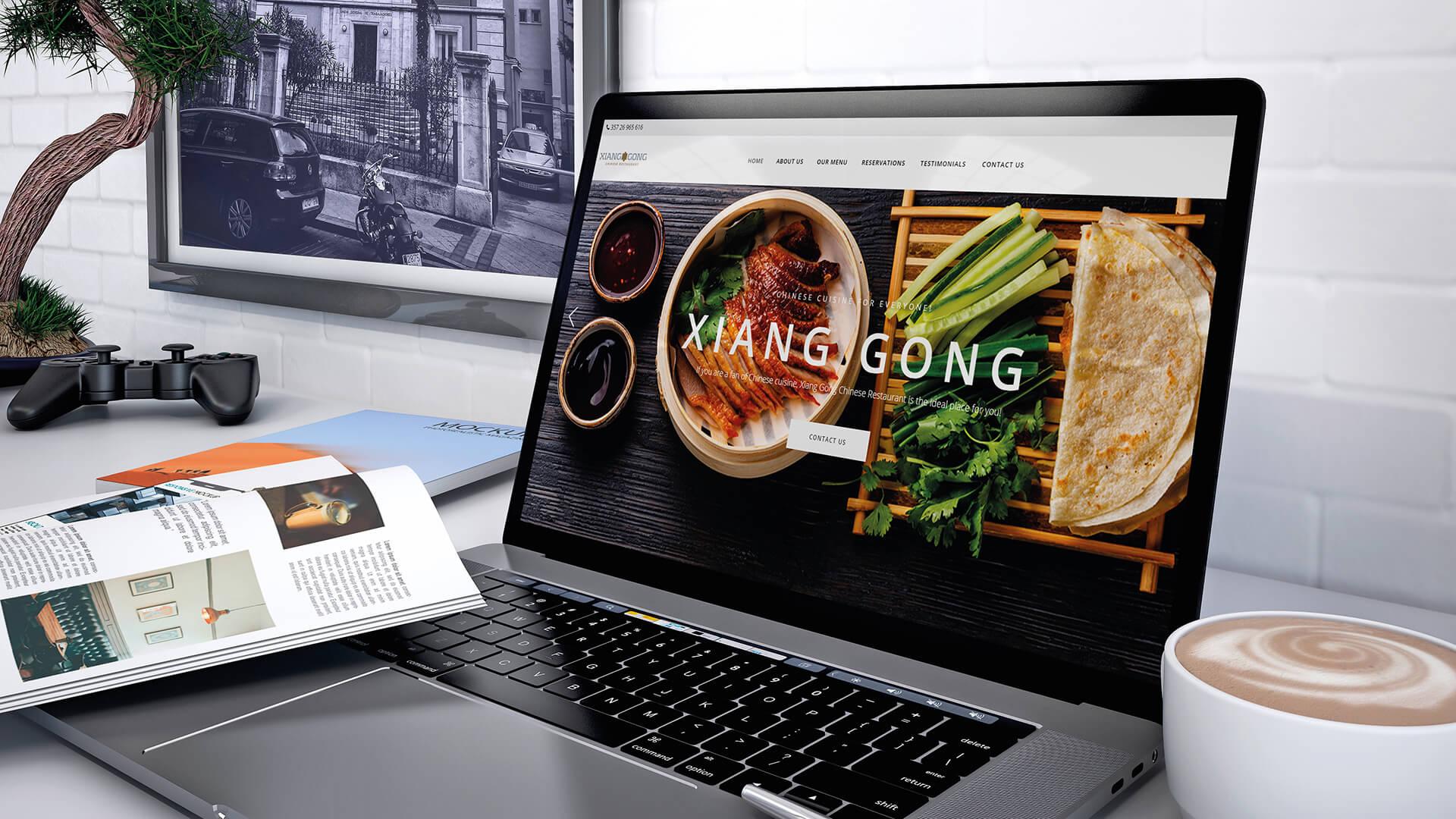 Xiang Gong New Website