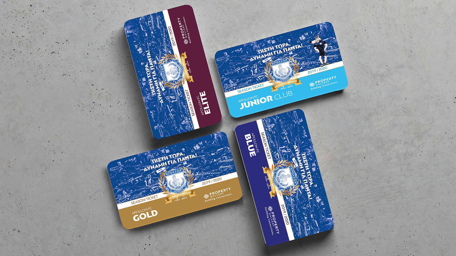 Apollonas Pvc Cards