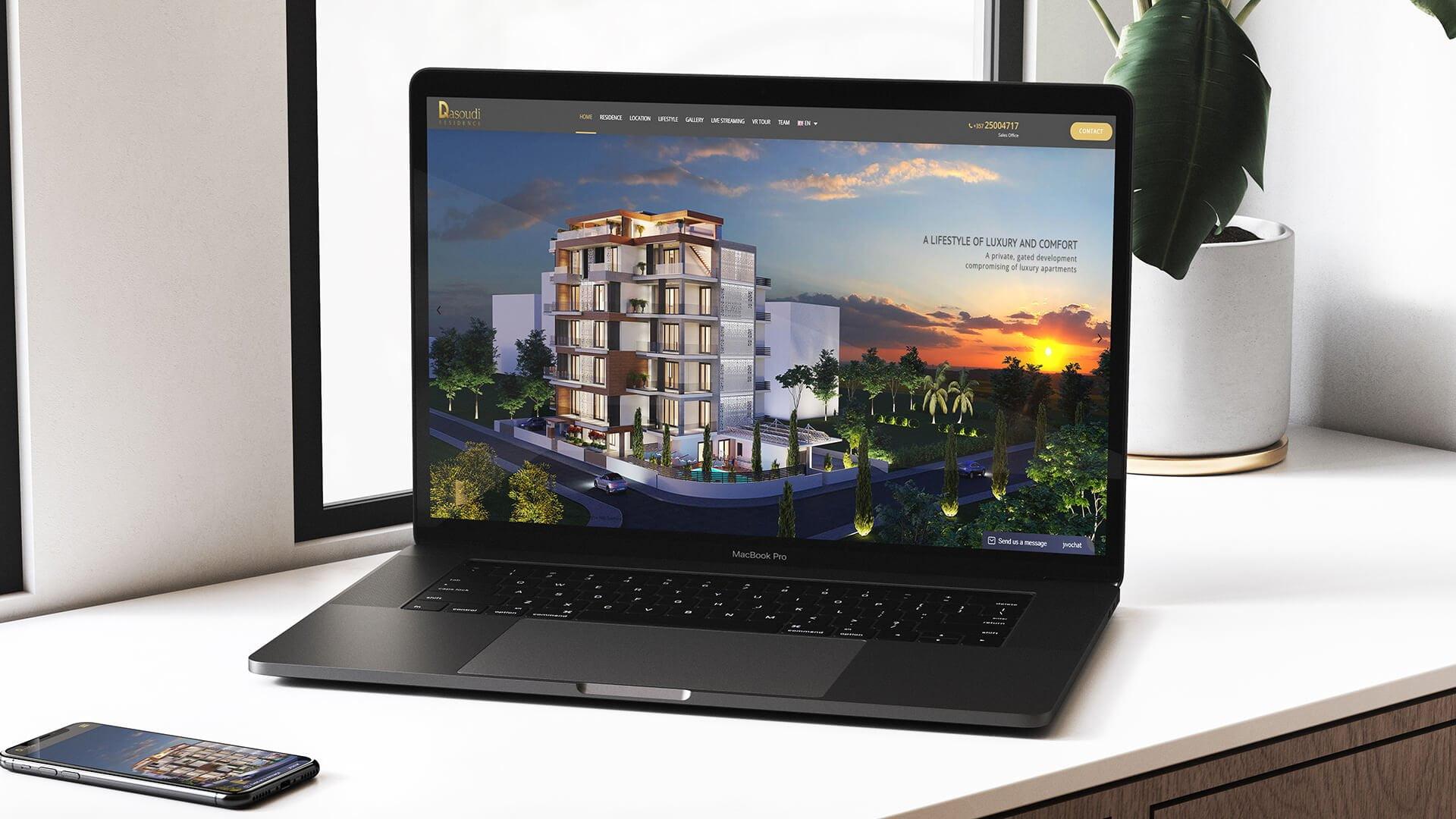 Dasoudi Residence Website