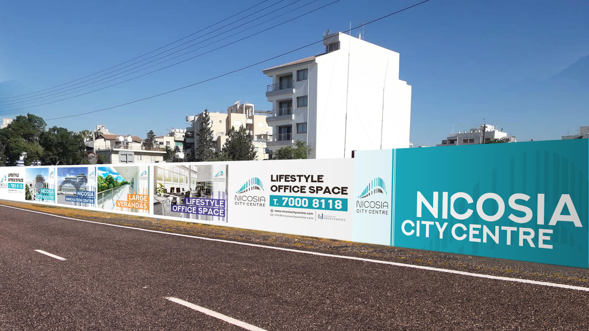 Nicosia City Center Fencing