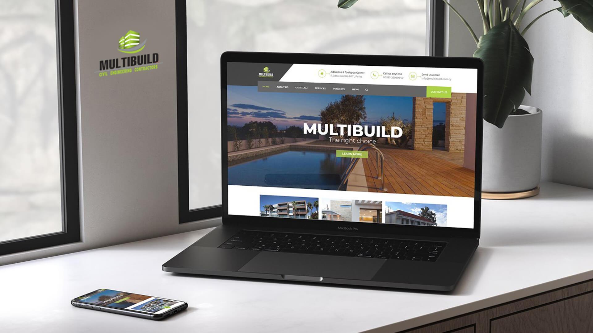 Multibuild Ltd Website