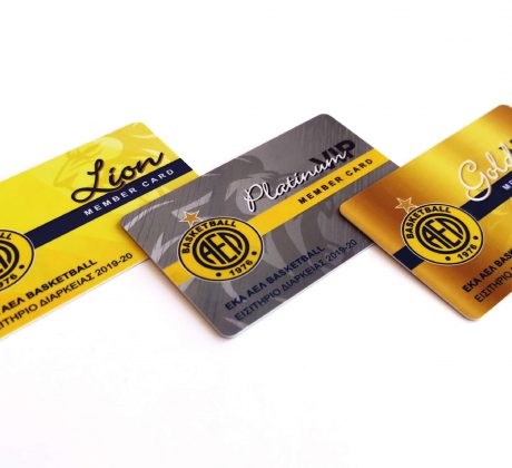 AEL Basketball Member Cards