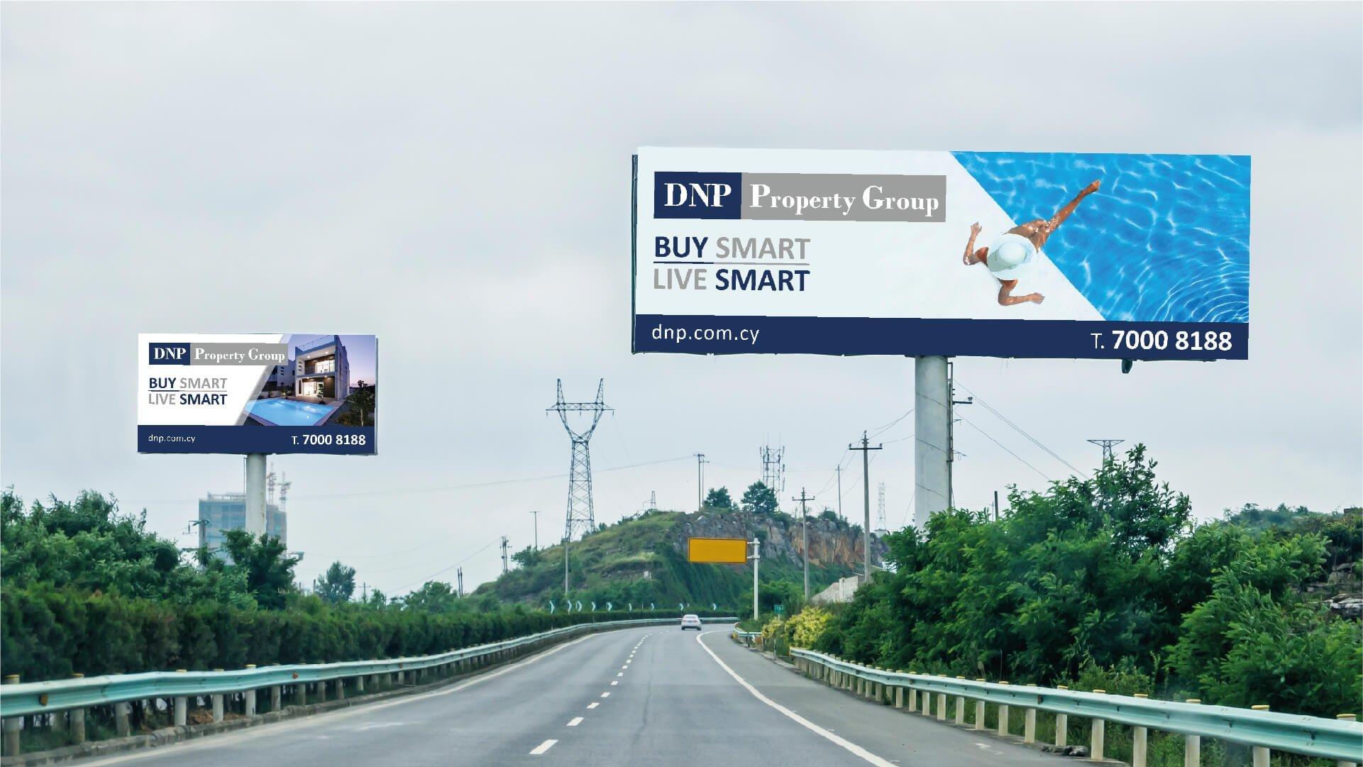 DNP billboards