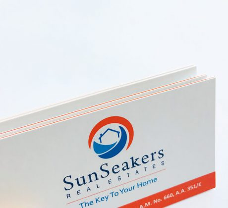 SunSeakers Business Card