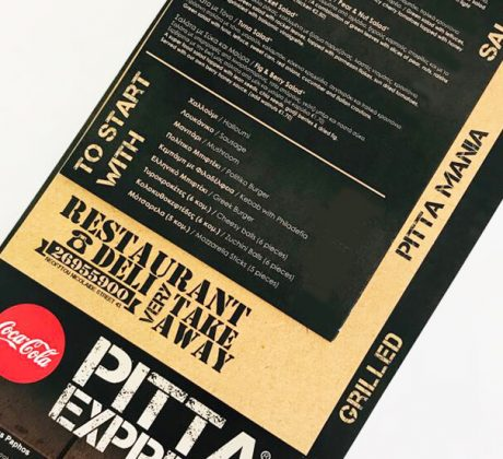Pitta Express Menu