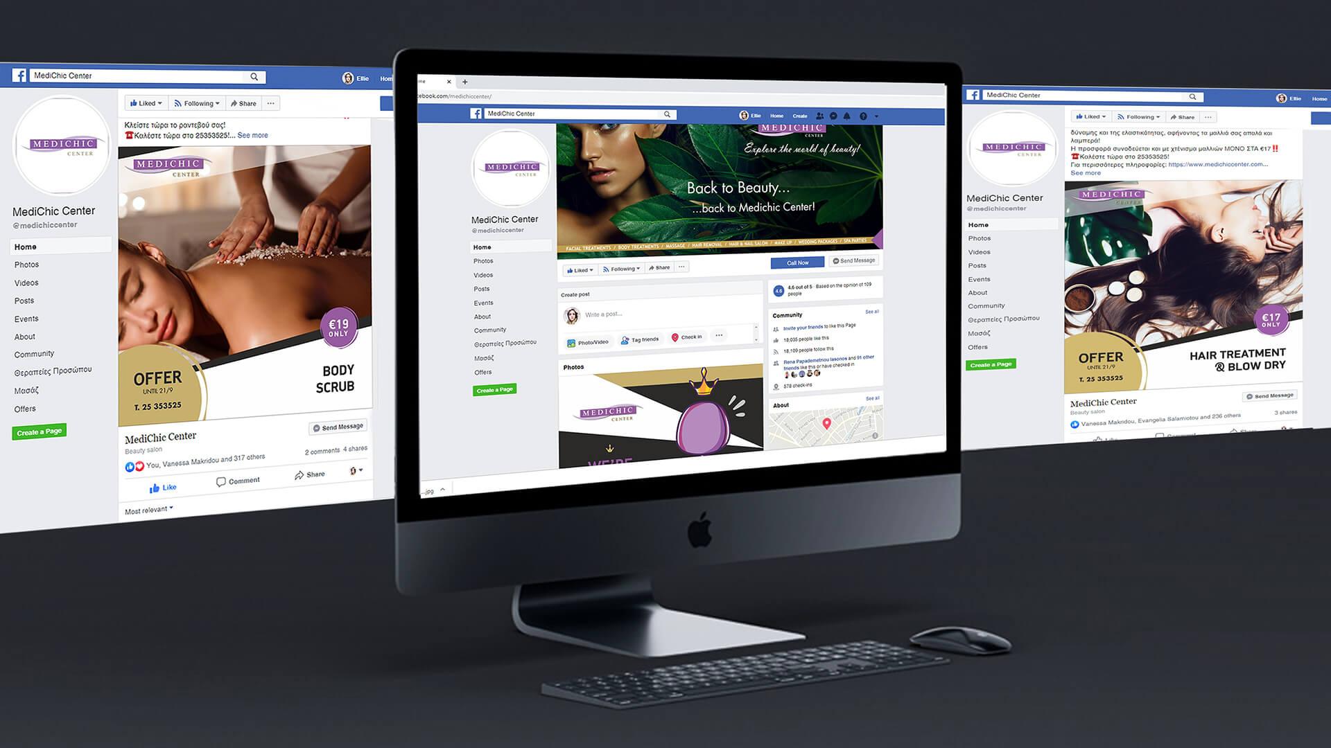 Medichic Center Social Media Management