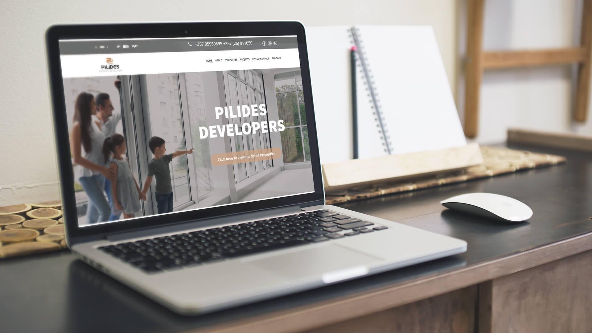Pilides Developers Website