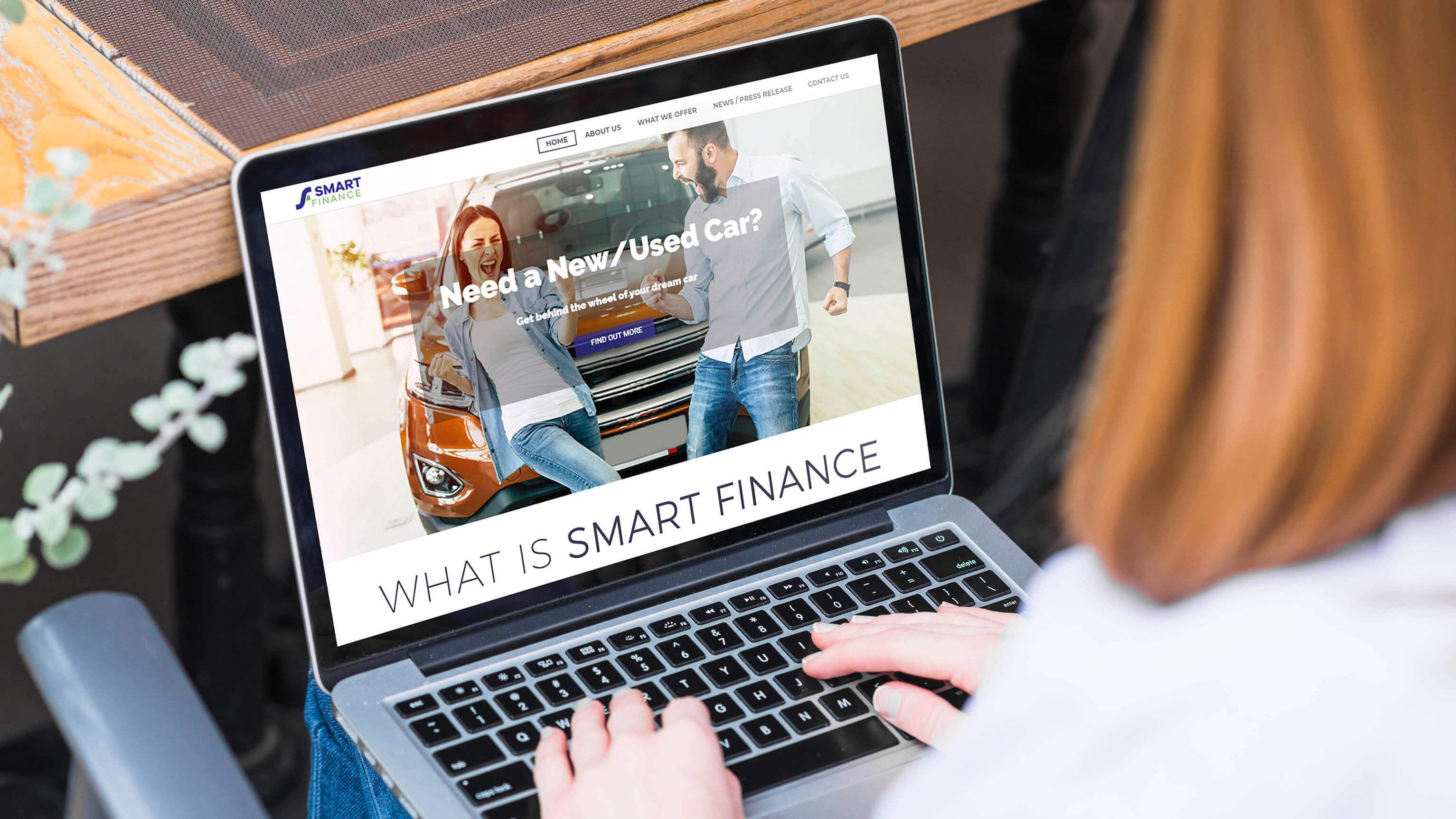 Smart Finance Website