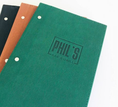 Phil's Bar & Grill Menus