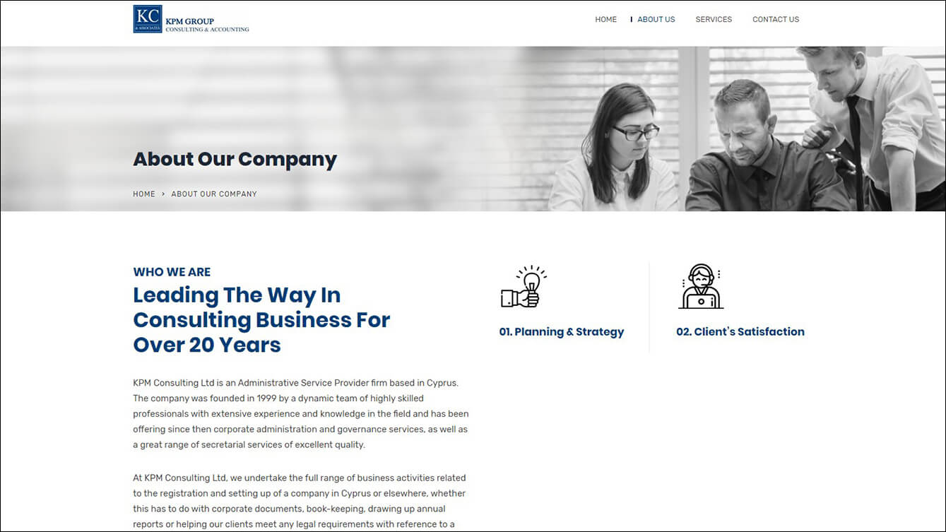 KPM Consulting Ltd