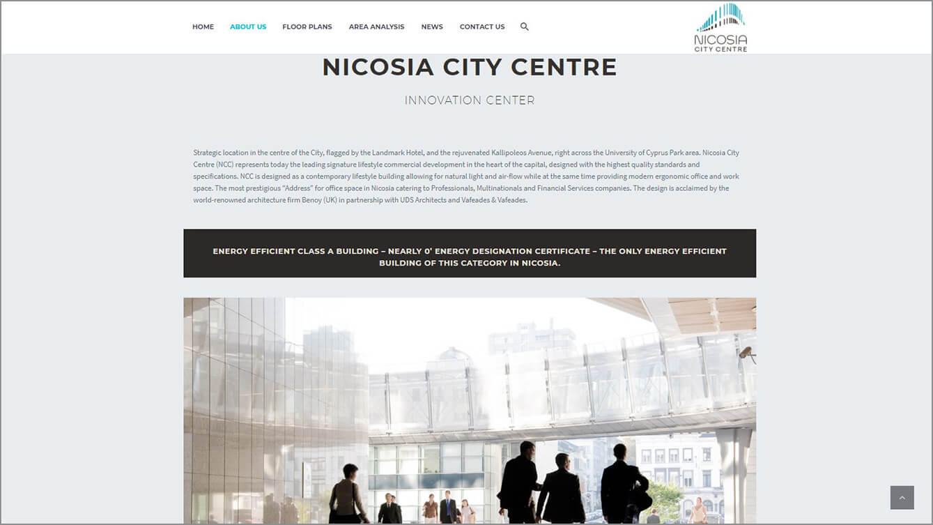 Nicosia City Center Website